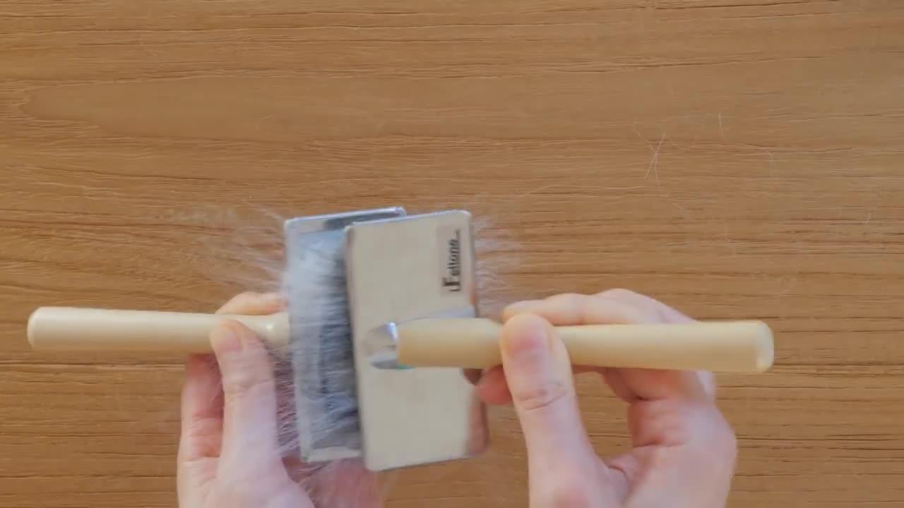 羊毛毡制作工艺视频教程 | 羊毛混色方法