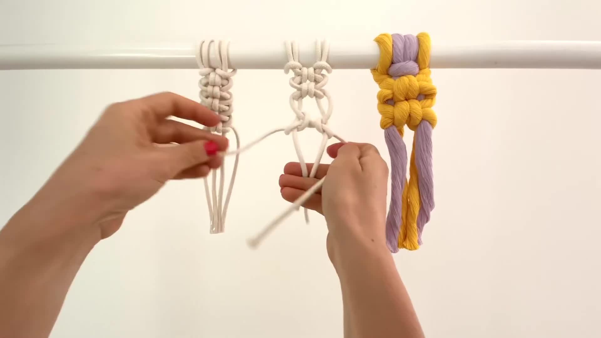 结绳基础视频教程:Loops Knot / 双滑结 / 双重单结