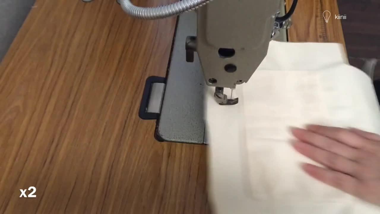 DIY布艺教程:制作带内袋的托特包(tote bag)