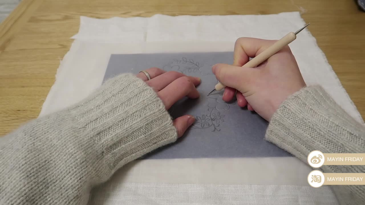 MAYIN FRIDAY 刺绣工具步骤教学