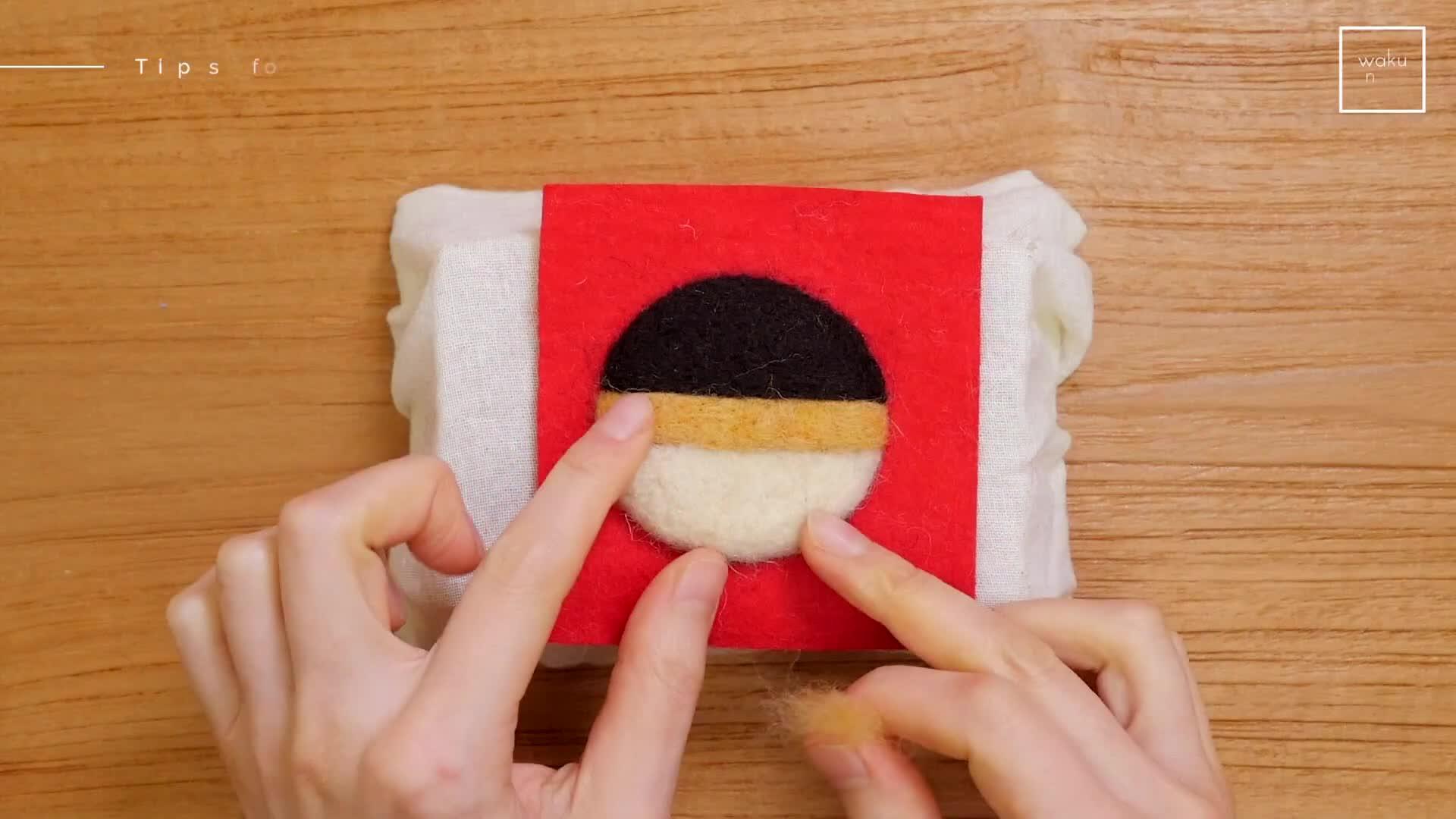 DIY羊毛毡教程:针毡基础