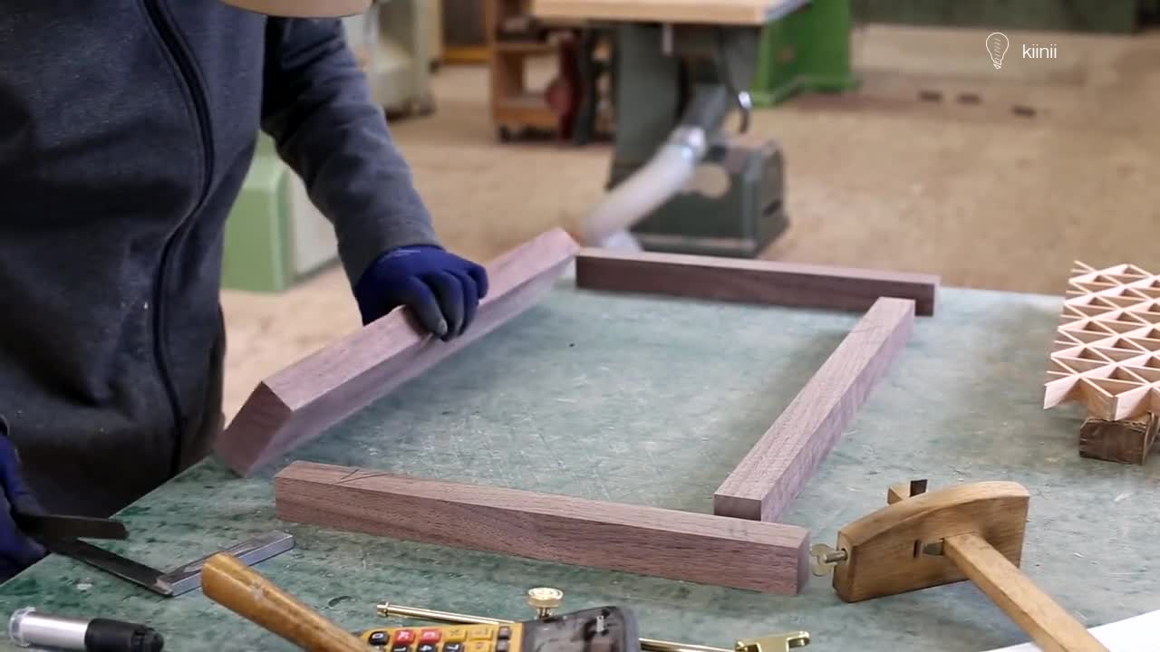 DIY木工制作过程 | 可调节的组子工艺实木乐谱架(Music Stand)