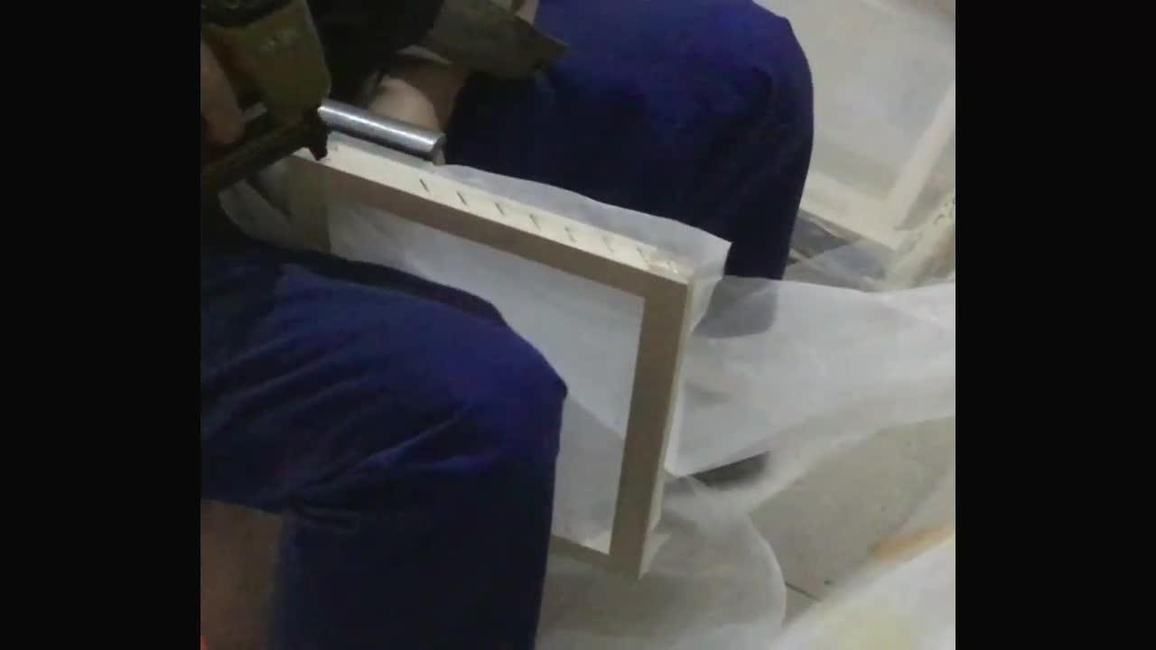 手工印T恤制版步骤