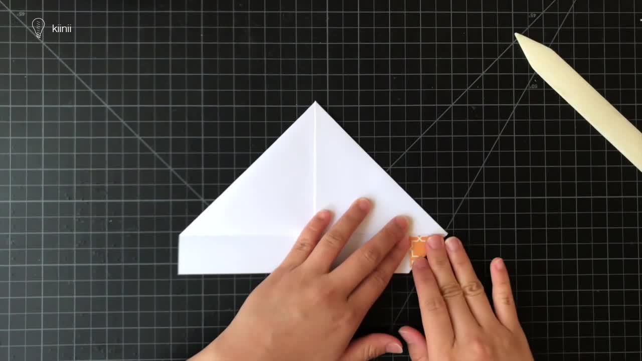 DIY小船折纸教程