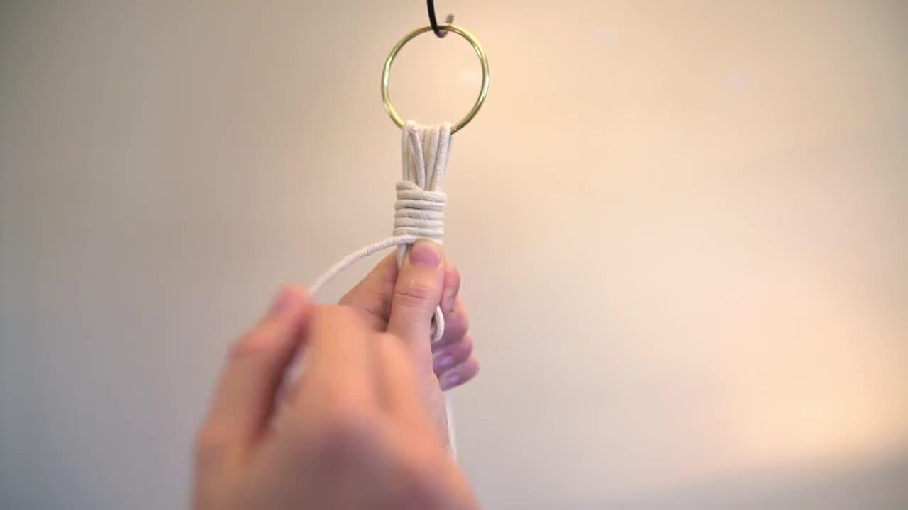 流苏结视频教程 | 绑流苏的实用方法