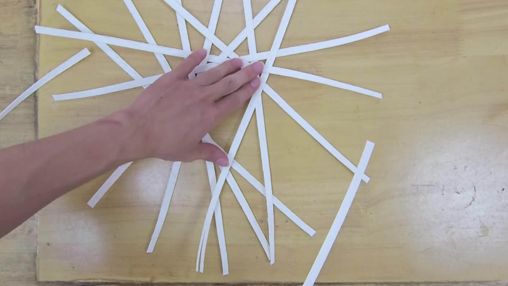 圆口编织法(圆口编织法)